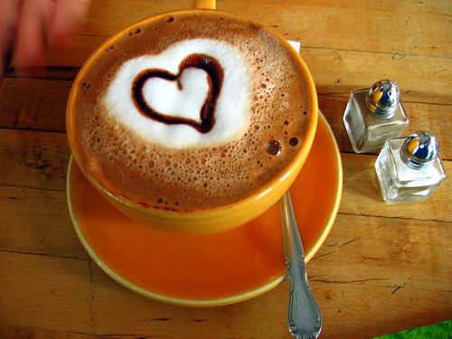 Добро утро с кафе! Heart-coffee2