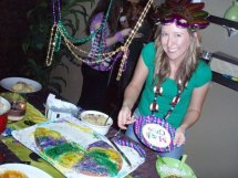 Me with the King Cake