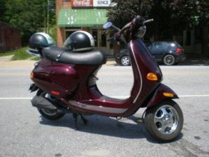 Scooter in Saluda
