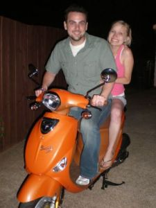 Marco and MIchelle Scooter
