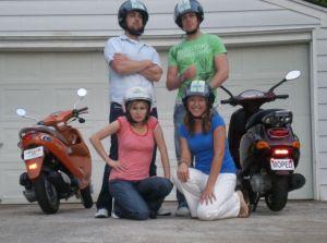 Vespa riders