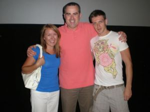 Me and Tim with Alex Kendrick