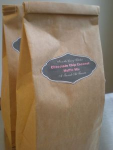 The Goodies We Delivered- Special Muffin Mix
