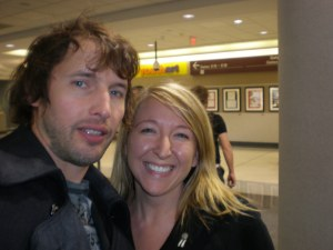 James Blunt and I