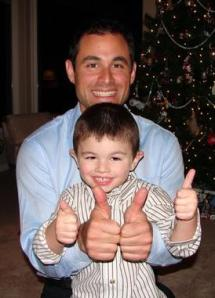 The Bachelor Jason Mesnick and Son Ty