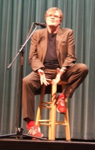 Garrison Keillor and Those Red Socks