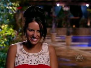 Shannon, a contestant on the Bachelor