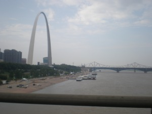 The St. Louis Arch. This is one of my favorite cities.