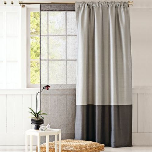 West Elm Curtain
