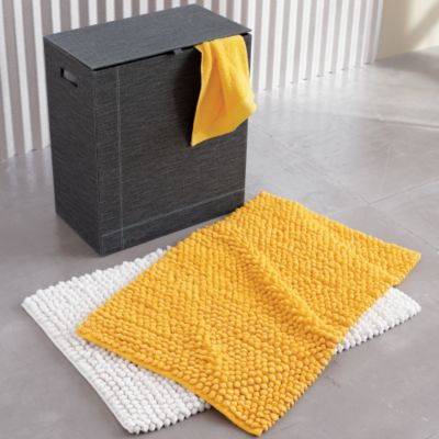 Yellow Bathroom Rugs From West Elm
