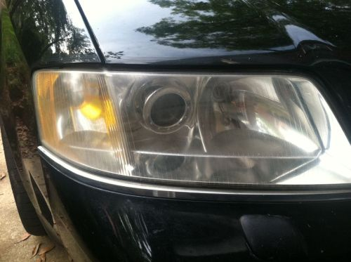 Audi headlight after
