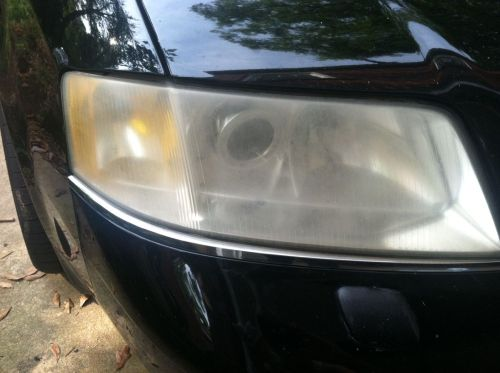 Audi headlight before